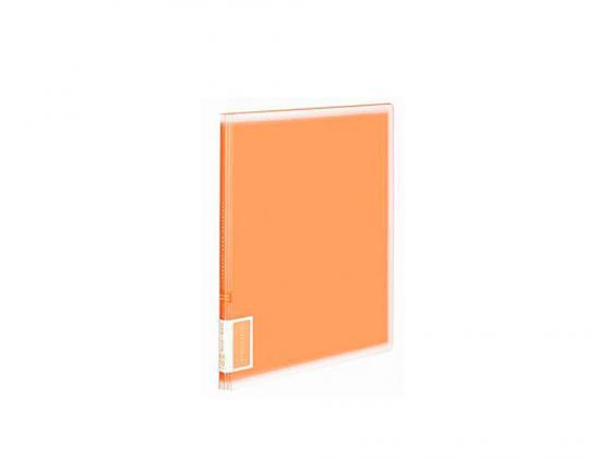 Папка с 10 прозрачными вкладышами Kokuyo RA-V10YR A4 оранжевый kokuyo kokuyo campus классический книжный переплет книги ноутбук мягкие рукописи в5 60 страница 4 случайный цвет в соответствии с настоящим аппаратом wcn cnb1610