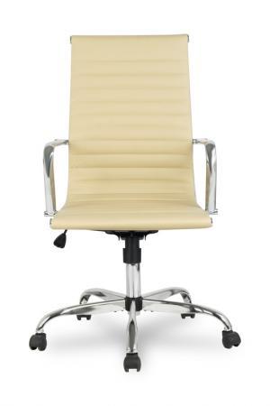 Кресло руководителя College H-966L-1 кожа бежевый кресло руководителя college clg 616 lxh brown