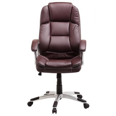 Кресло руководителя College BX-3233/3323 экокожа коричневый цена и фото