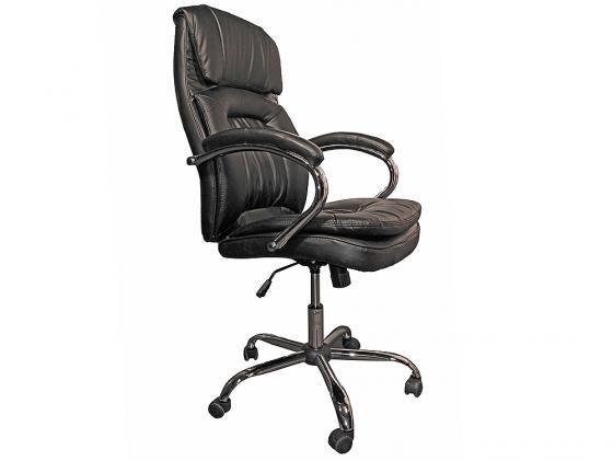 Кресло руководителя College BX-3001-1 экокожа черный кресло компьютерное college bx 3177 brown