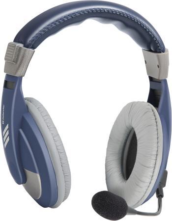 Гарнитура Defender Gryphon HN-750 синий 63748 стоимость