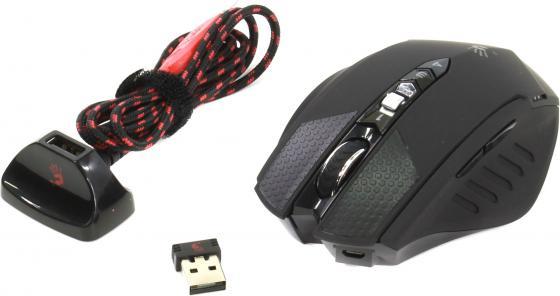 Мышь беспроводная A4TECH Bloody Warrior RT7 чёрный USB мышь a4tech bloody warrior rt5 black usb bloody warrior rt5 black usb