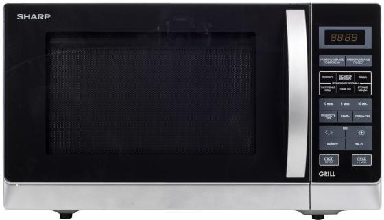 Микроволновая печь Sharp R7773RSL 900 Вт серебристый