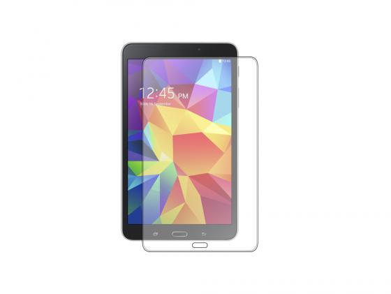 Защитное стекло Deppa для ПК Samsung Galaxy Tab 4 8.0 0.4 мм прозрачное 61932 аксессуар защитная пленка samsung galaxy tab a 9 7 deppa transperent 61390