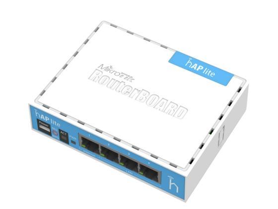 все цены на Беcпроводной маршрутизатор MikroTik hAP lite 802.11n 300Mbps 2.4ГГц 4xLAN RB941-2nD онлайн