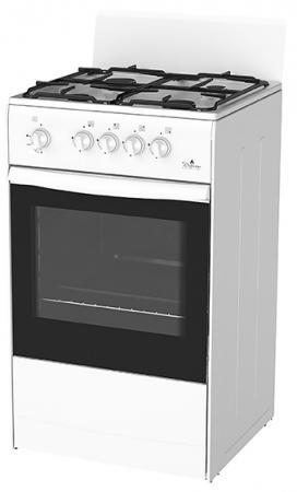 Газовая плита Дарина S GM441 001 белый плита дарина 1 b gm441 105w