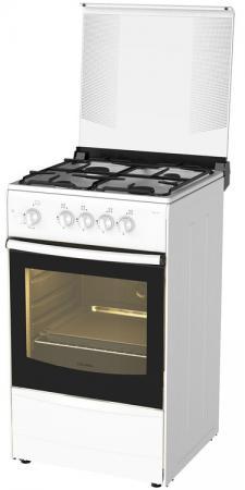 Газовая плита Darina 1B GM441 005 W белый плита дарина a gm441 002