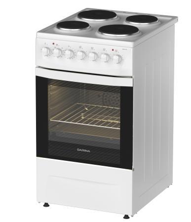 Электрическая плита Darina 1D EM241 419 W белый электрическая плита дарина 1d em141 407 w 1d em141 407 w