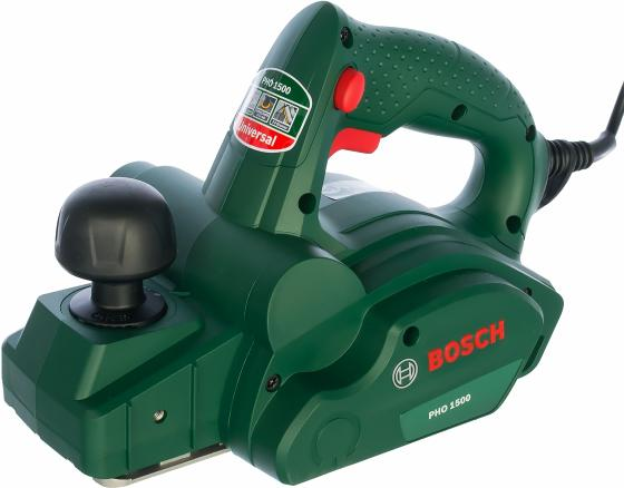 Рубанок Bosch PHO 1500 550Вт 82мм рубанок bosch pho 3100 0603271120