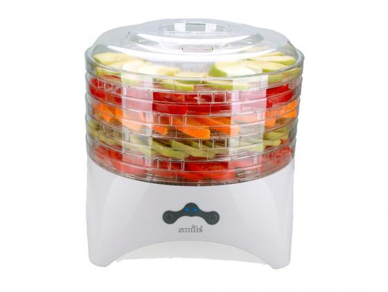 Сушилка для овощей и фруктов Smile FD 993 300Вт белый все цены