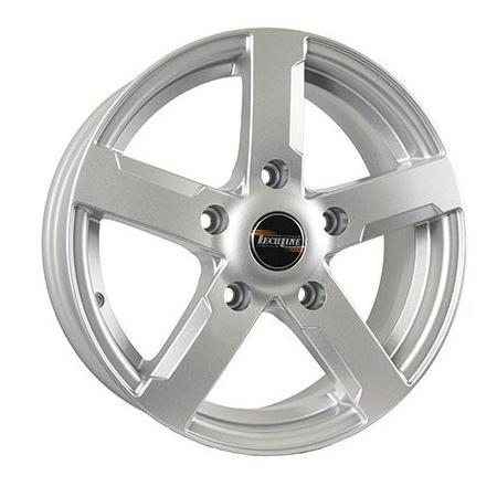 цена на Диск Tech Line 618 6.5x16 5x139.7 ET40 Silver