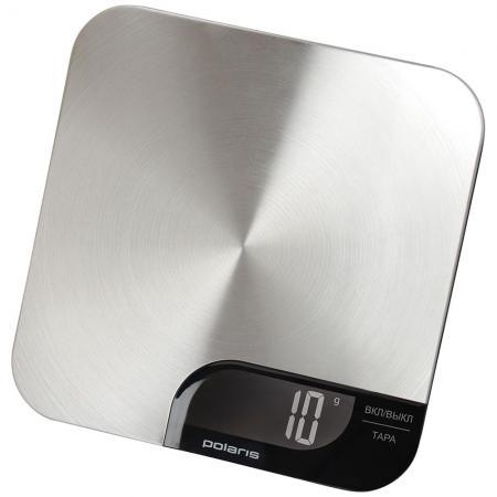 Весы кухонные Polaris PKS 0538DM электронные серебристый весы polaris pks 0538dm