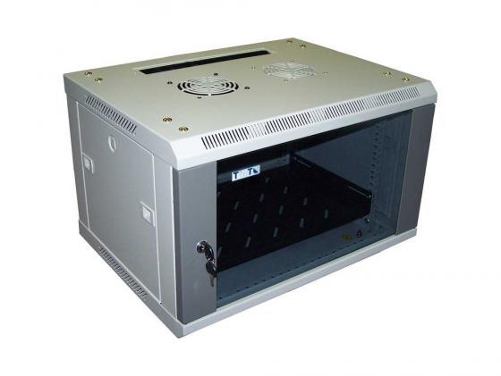 Шкаф настенный 15U Lanmaster TWT-CBW2-15U-6X4 600x450mm стеклянная дверь цена 2017