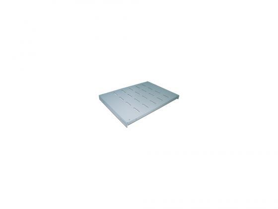 лучшая цена Полка Lanmaster TWT-RACK2-S4-10/80 для двухрамных стоек глубина 1000мм 4 точки до 80 кг серый