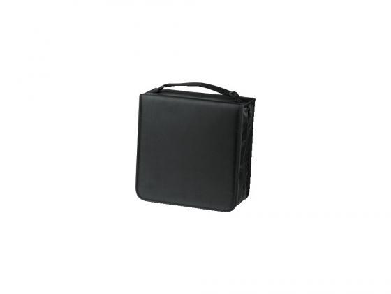 Портмоне HAMA для 304 CD нейлон черный + чистящая салфетка для CD H-33837 сумка hama h 83963 universal в багажник нейлон черный