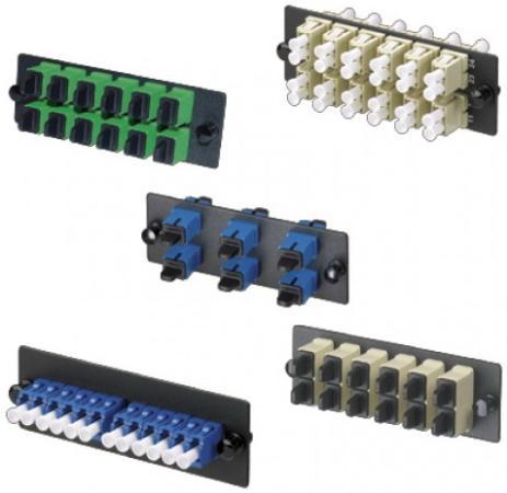 Патч-панель Panduit FAP6WBUDLCZ 6xLC дуплексные керамические SM  крышка короба panduit frhc6yl2 fiberrunner 6