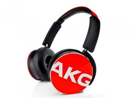 Наушники AKG Y50 красный akg cgn321sts