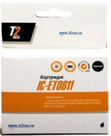 Фото - Картридж T2 IC-ET038 C13T038140 для Epson St C43/C45 черный картридж t2 ic et0872 для epson st ph r1900 голубой