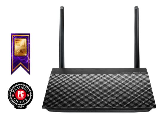Беспроводной маршрутизатор ASUS RT-AC51U 802.11aс 733Mbps 5 ГГц 2.4 ГГц 4xLAN USB черный маршрутизатор asus rt n66w 802 11abgn 900mbps 5 ггц 2 4 ггц 4xlan usb3 0 белый