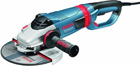 Угловая шлифмашина Bosch GWS 24-230 LVI 2400Вт 230мм угловая шлифовальная машина bosch gws 20 230 h 0 601 850 107