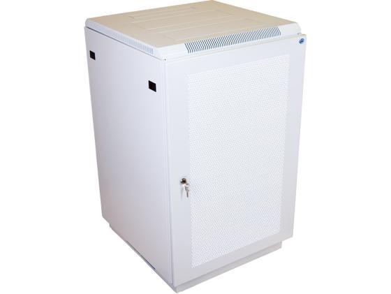 Шкаф напольный 22U ЦМО ШТК-М-22.6.10-4ААА 600x1000mm дверь перфорированная