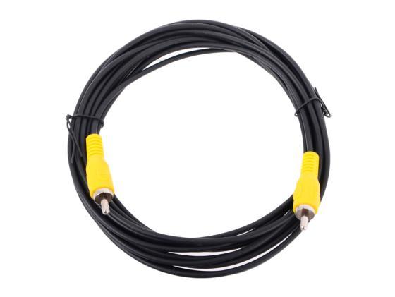 все цены на Кабель соединительный 5.0м VCOM Telecom RCA(M)-RCA(M) черный TAV4158-5M онлайн