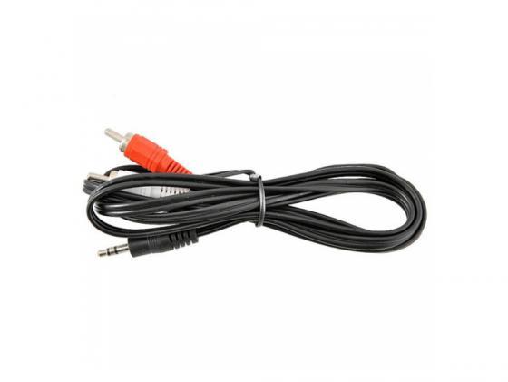 Кабель соединительный 1.8м VCOM Telecom 3.5 Jack (M) - 2xRCA (M) стерео аудио VAV7183-1.8M кабель jack jack roland кабель межблочный стерео jack стерео jack rhc 25 1414 7 5 m