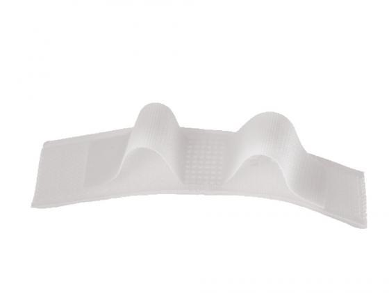 Купить Набор стяжек Hama H-20541 10см 9шт пластик/нейлон черный/серый/белый, Набор стяжек на липучках