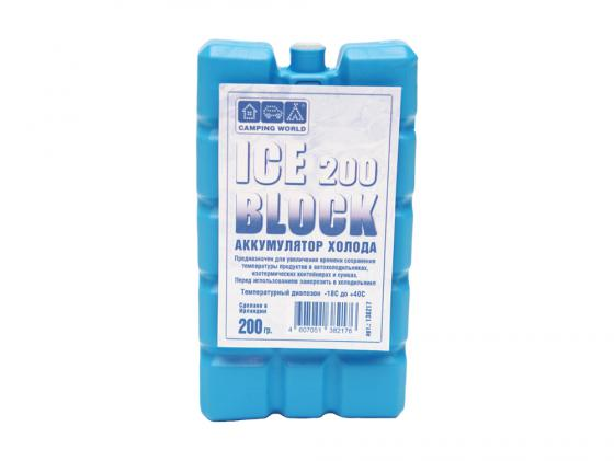 цена на Аккумулятор холода CW Camping World Iceblock 200 200гр 138217