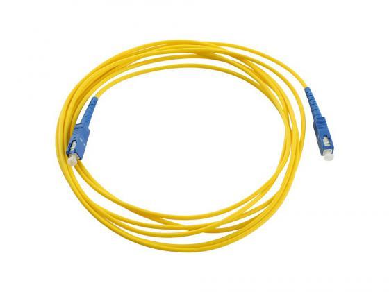 Патч-корд Vcom SC-SC UPS волоконно-оптический шнур одномодовый Simplex 5м VSU202-5M