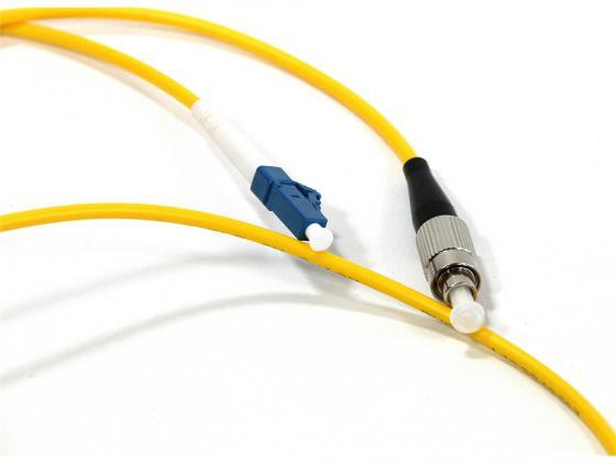 Патч-корд Vcom LC-FC UPS волоконно-оптический шнур одномодовый Simplex 1м VSU301-1M оптический шнур vcom lc fc upc одномодовый simplex vsu301 1m