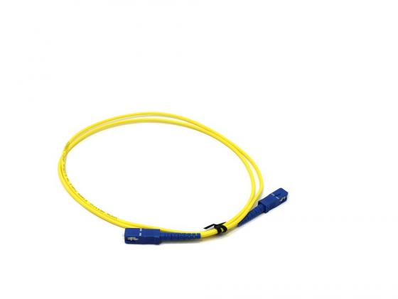 Патч-корд Vcom SC-SC UPS волоконно-оптический шнур одномодовый Simplex 1м VSU202-1M sc sc fiber cable fiber patch cord sc jumper cable single mode sm simplex 9 125 3 5 10 15 100 meters