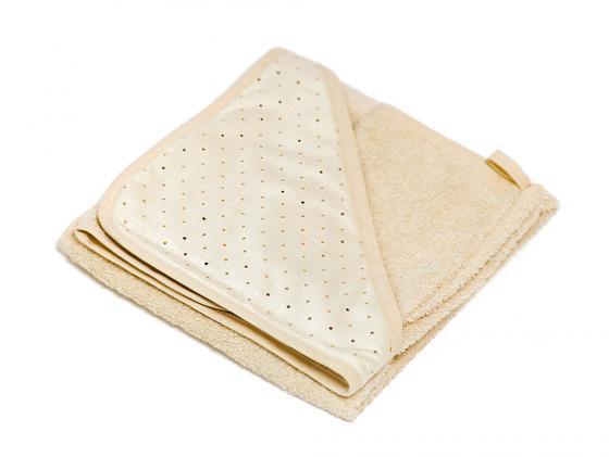 Махровое полотенце POLVERE DI STELLE бежевое 050.4100-056 комплект белья из 5 и предметов italbaby polvere di stelle