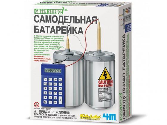 Игровой набор 4M Самодельная батарейка 00-03360 4м самодельная батарейка