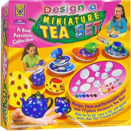 Набор для творчества Creative Украшаем чайный сервиз от 7 лет 5350