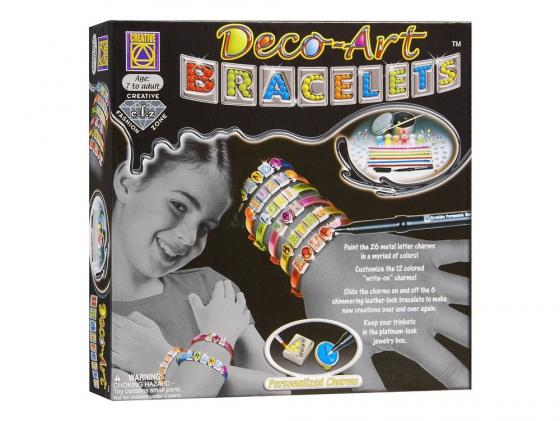 Набор для творчества Creative Браслеты арт-деко 5510 creative набор для творчества браслеты арт деко