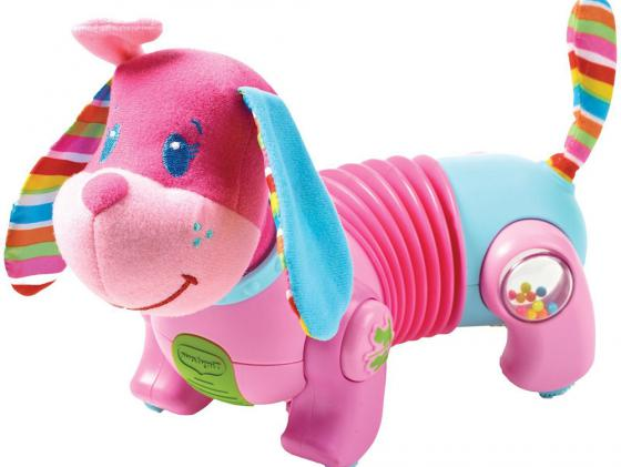 Интерактивная игрушка Tiny Love Фиона Догони меня до 1 года розовый Т856 450 игрушка собачка фиона догони меня серия tiny princess новый дизайн tiny love