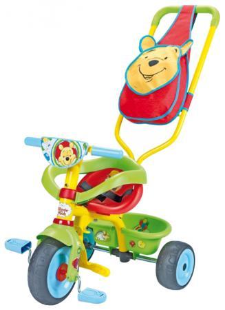 Велосипед трехколёсный Smoby Be Fun Confort Winnie зеленый 444160 smoby велосипед be fun confort трехколесный с сумкой