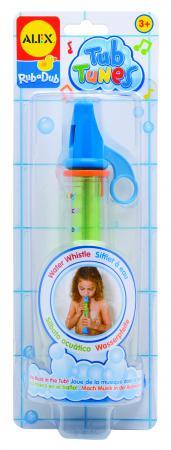 Интерактивная игрушка Alex для ванны Водяная дудочка от 3 лет разноцветный 4008