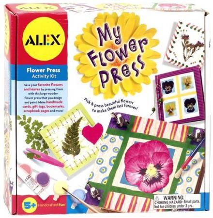 Набор для творчества ALEX Пресс для гербария + оформление подарков/открыток от 5 лет 109W