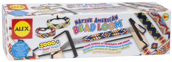 Набор для творчества Alex Фенечки из бусин для плетения на станке Индейские узоры 144 alex alex набор для творчества плетение браслетов фенечек неоновое сияние
