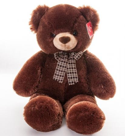 Мягкая игрушка медведь AURORA Медведь коричневый 69 см коричневый плюш мягкая игрушка медведь fluffy family мишка тоша 70 см коричневый плюш 681178