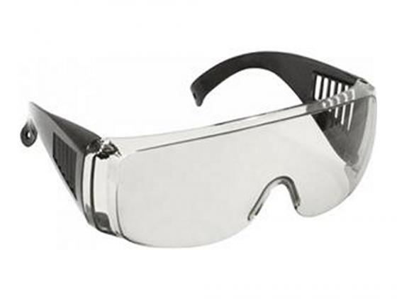 Защитные очки Fit 12218 с дужками дымчатые