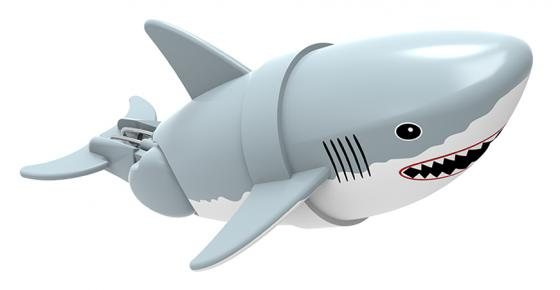 Интерактивная игрушка Lil' Fishys Акула-акробат Джабон от 4 лет серый 126212-4