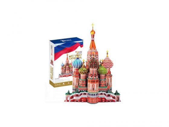Пазл 3D 214 элементов CubicFun Собор Василия Блаженного MC093h cubicfun петропавловский собор