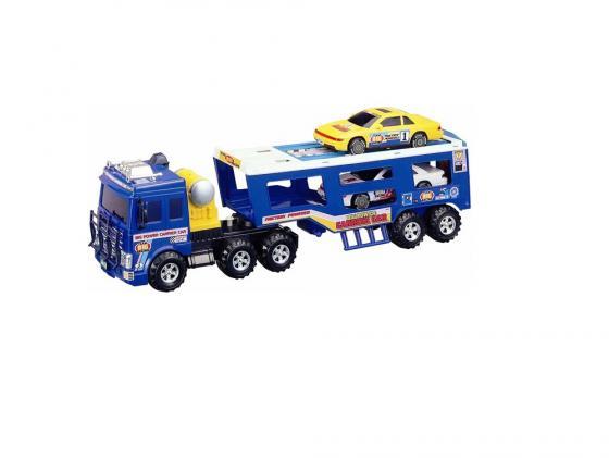 Машинка автовоз Daesung Toys 906 1 шт 54 см синий машинка daesung toys пожарная 404