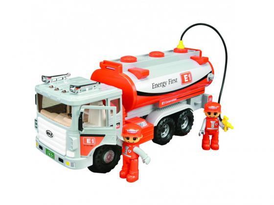 Машинка бензовоз Daesung Toys 965-1 1 шт 37 см серый daesung toys бензовоз max 965 1