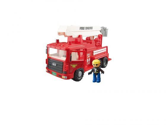 Машинка пожарная Daesung Toys MAX 959-1 1 шт 34,5 см красный daesung toys машинка