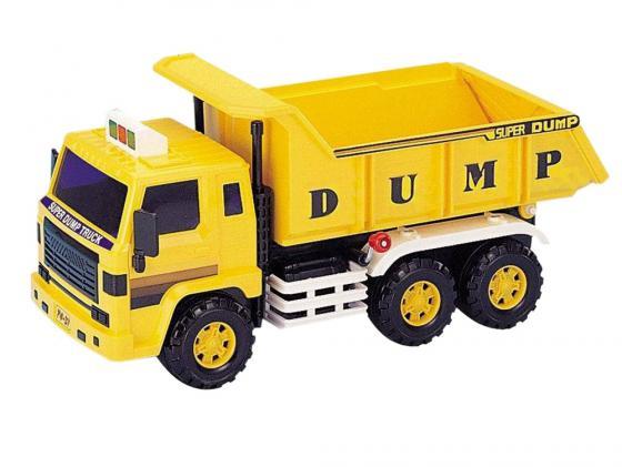 Самосвал Daesung Toys 406 1 шт 33 желтый машинка daesung toys самосвал 406