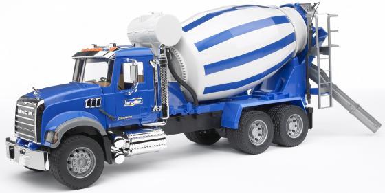 Бетономешалка Bruder Mack 1 шт 66.5 см синий 02-814